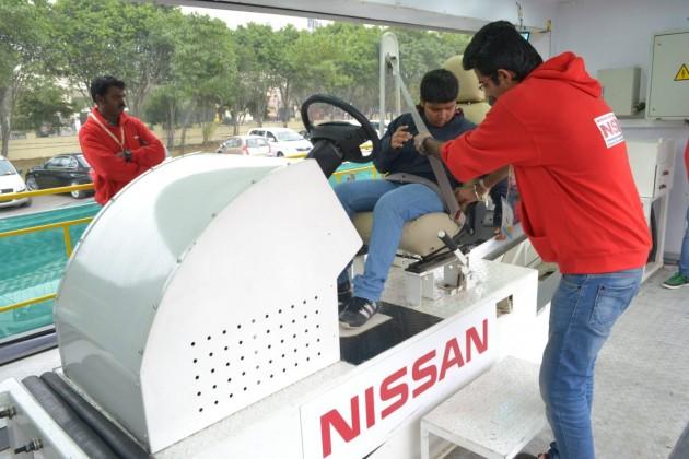 NSDF low speed crash simulator