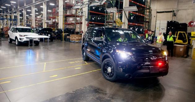 100000th Ford Police Interceptor