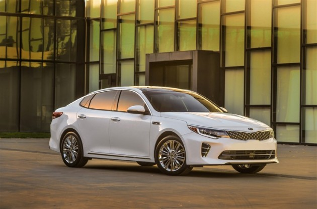 The 2016 Kia Optima SXL