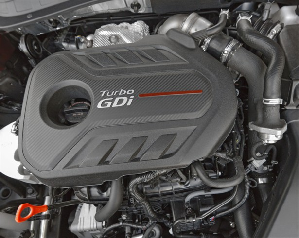 The SXL's 247 hp, turbocharged 2.0-liter engine