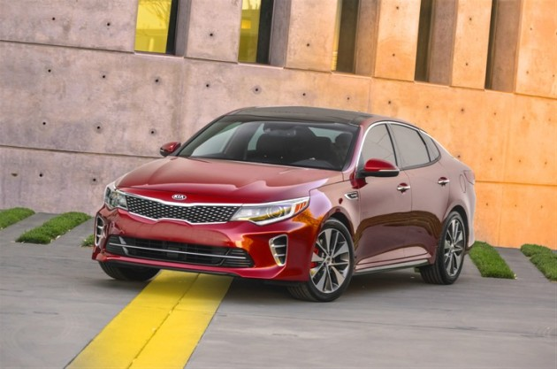 The 2016 Kia Optima SX