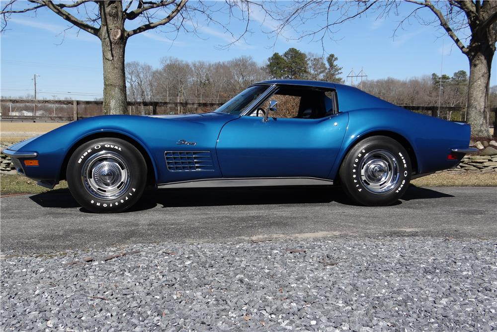 1971 chevrolet corvette stingray t top coupe 1 the news wheel. Cars Review. Best American Auto & Cars Review