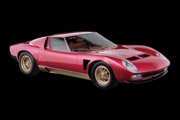 A 1971 Lamborghini Miura SVJ