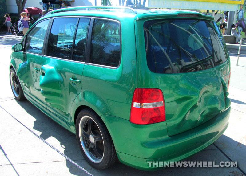 Hulk Mobile Vw Touran From Fast Furious Tokyo Drift At Universal Studios The News Wheel