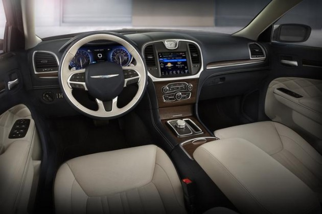 The 2015 Chrysler 300 interior was named to Ward's 10 Best Interiors List for 2015