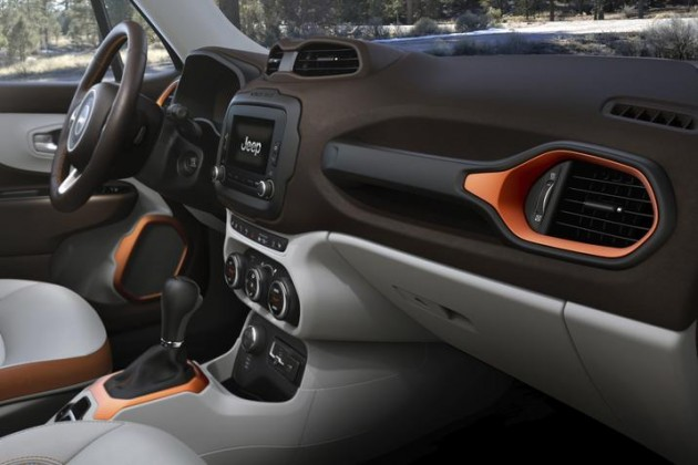 The 2015 Jeep Renegade interior was named to Ward's 10 Best Interiors List for 2015