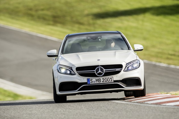 Mercedes has announced pricing for the 2015 Mercedes-AMG C63 (pictured) and the C63 S