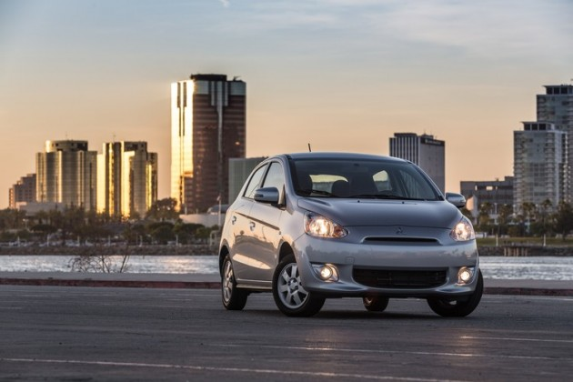 The 2015 Mitsubishi Mirage was a key player in Mitsubishi's March sales