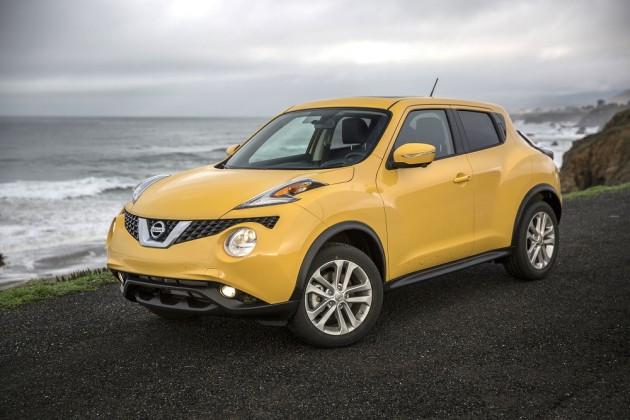 2015 Nissan Juke overview