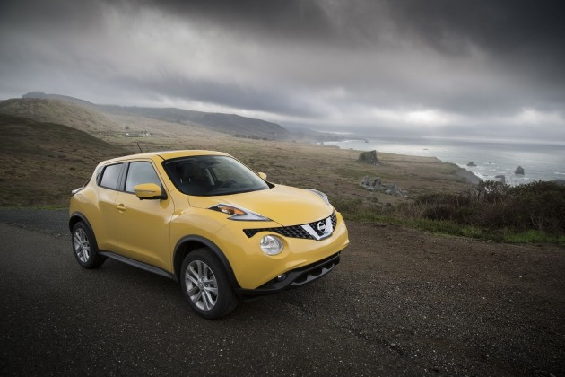 2015 Nissan Juke efficiency