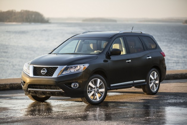 2015 Nissan Pathfinder overview