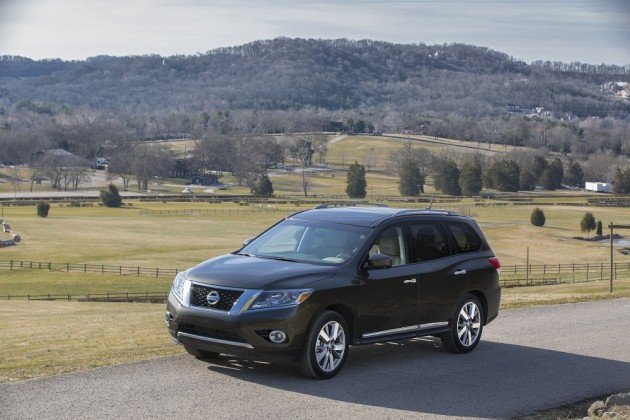 2015 Nissan Pathfinder efficiency