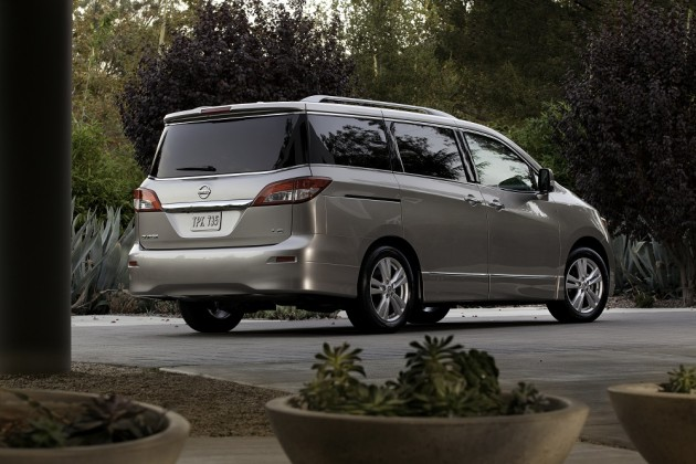 2015 Nissan Quest safety
