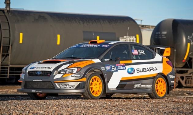 2015 WRX STI Rallycross Car, VT15x