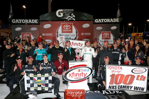 Danny Hamlin Wins the Toyota Care 250 at Richmond International Raceway