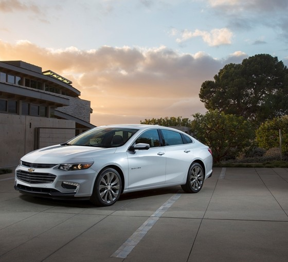 2016 chevrolet malibu debuts in new york the news wheel. Black Bedroom Furniture Sets. Home Design Ideas