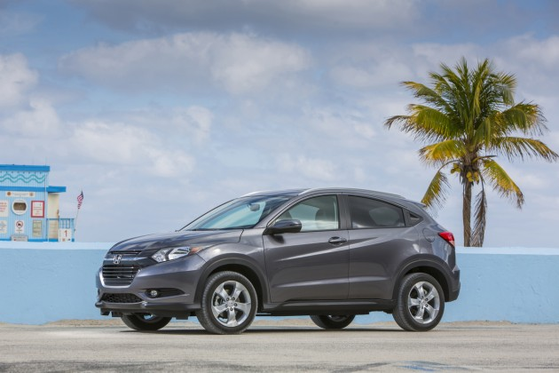 The all-new 2016 Honda HR-V