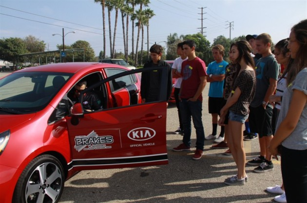 KIA MOTORS AMERICA AND B.R.A.K.E.S. TEEN PRO-ACTIVE DRIVING SCHOOL