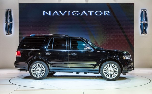 Lincoln Brings Mkx Navigator Continental Concept To