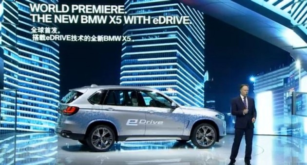 BMW Press conference at the Shanghai Auto Show 2015