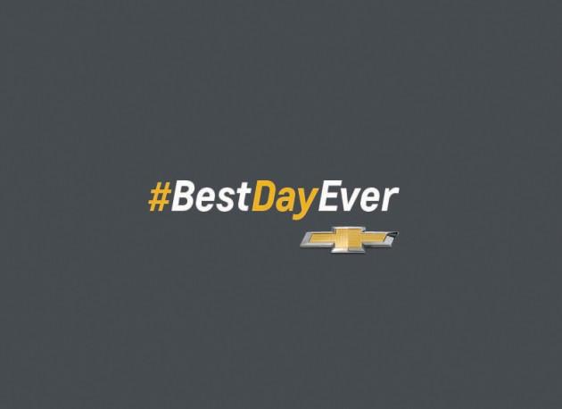 #BestDayEver