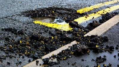 Bridgeport pothole