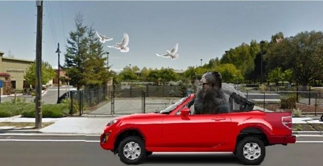 Nicolas Cage Mazda