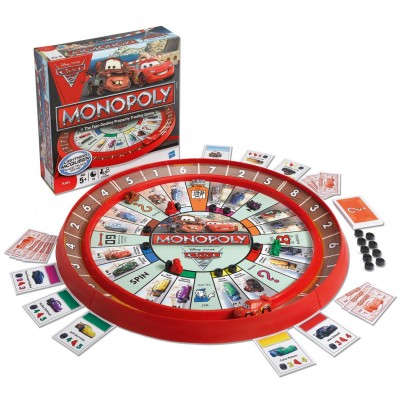 Cars2 Monopoly Top Car-Themed Board Games
