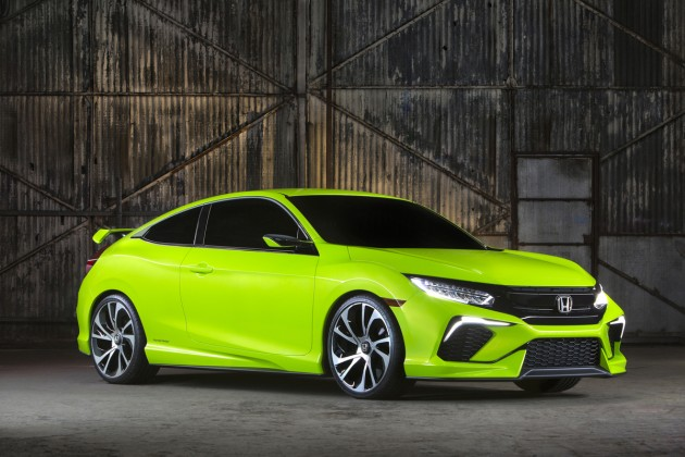 The 2016 Honda Civic concept is damn good looking