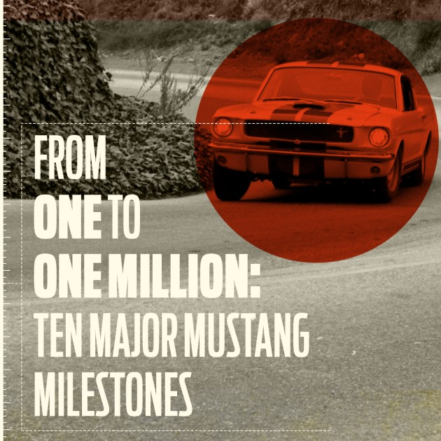 From One to One Million: Ten Major Mustang Milestones