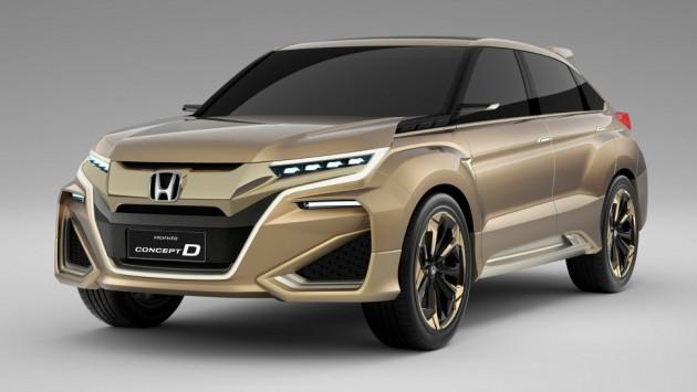 The 2015 Honda Concept D