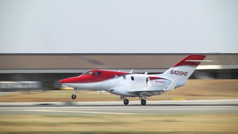 The HondaJet will visit Japan and Europe later this month