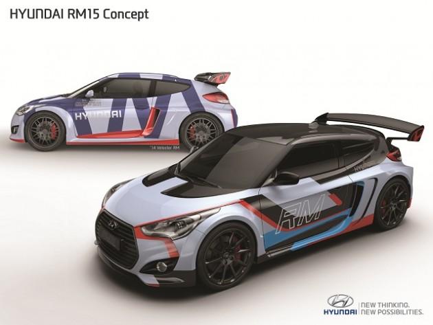 Hyundai RM15 concept at 2015 Seoul Motor show