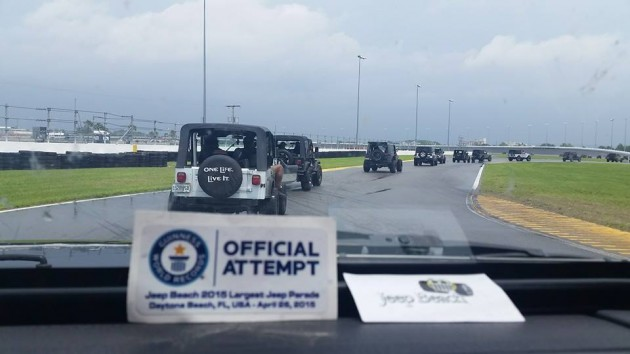 Jeep Beach Orchestrates World's Largest Jeep Parade