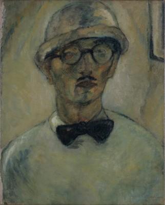 Yasuo Kuniyoshi, Self-Portrait, 1918