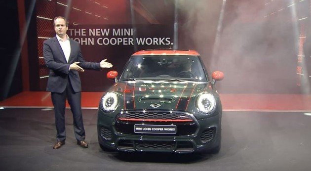 MINI John Cooper Works model debut at 2015 Auto Shanghai