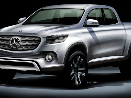 A Mercedes-Benz pickup could be coming to America