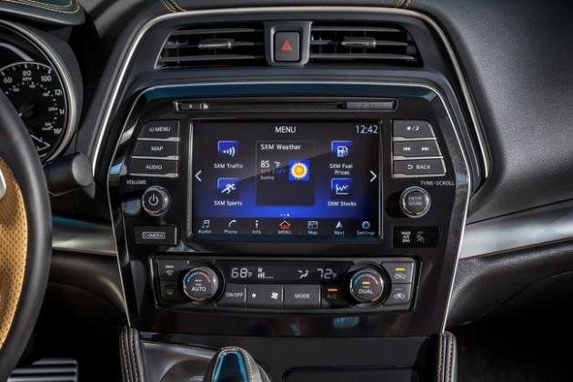 The 2016 Nissan Maxima boasts NissanConnect Services