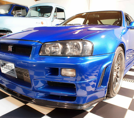 Nissan Skyline GT-R Driven By Paul Walker In Fast