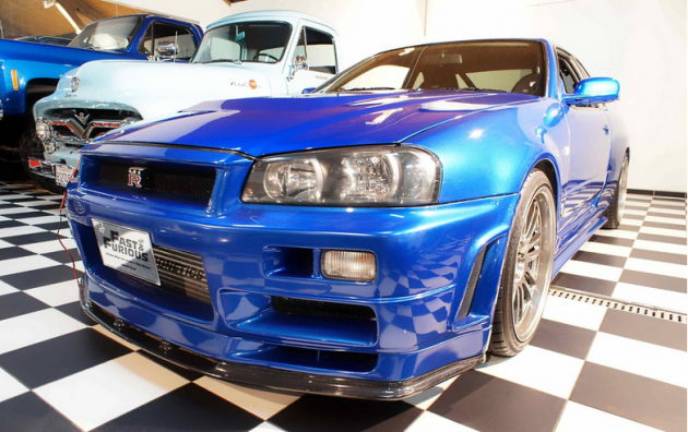 nissan skyline gt r driven by paul walker in fast furious is for sale the news wheel. Black Bedroom Furniture Sets. Home Design Ideas