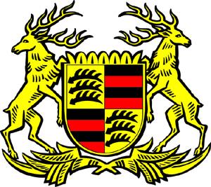 Weimar-era Württembergcoat of arms inspired Porsche logo