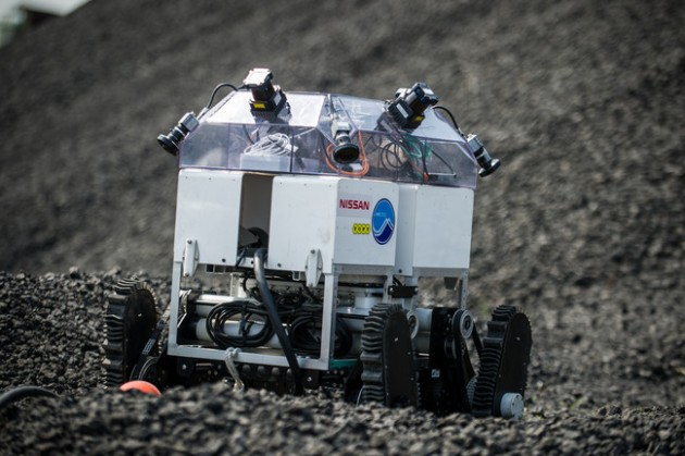 An ROV with Nissan's Around View Monitor