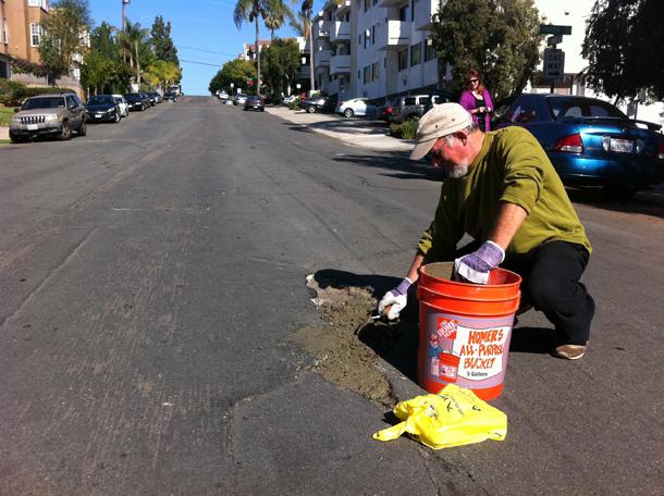 San Diego Pothole