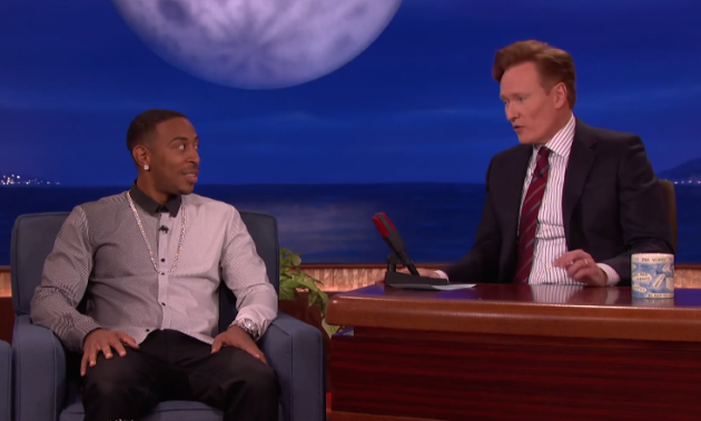 Ludacris and Conan O'Brien