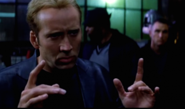 Nicolas Cage in Gone in Sixty Seconds