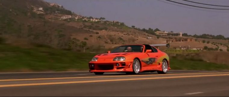 1993 Toyota Supra from The Fast and The Furious