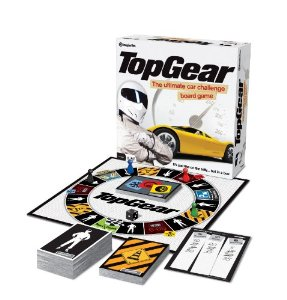 Top Gear Top Car-Themed Board Games