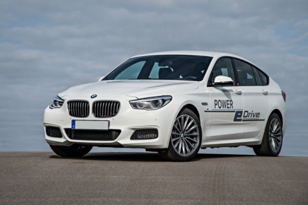 bmw-5-series-GT Hybrid Power eDrive White