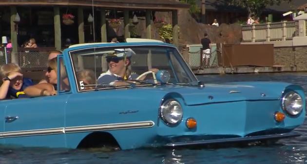 Car Boats at Downtown Disney