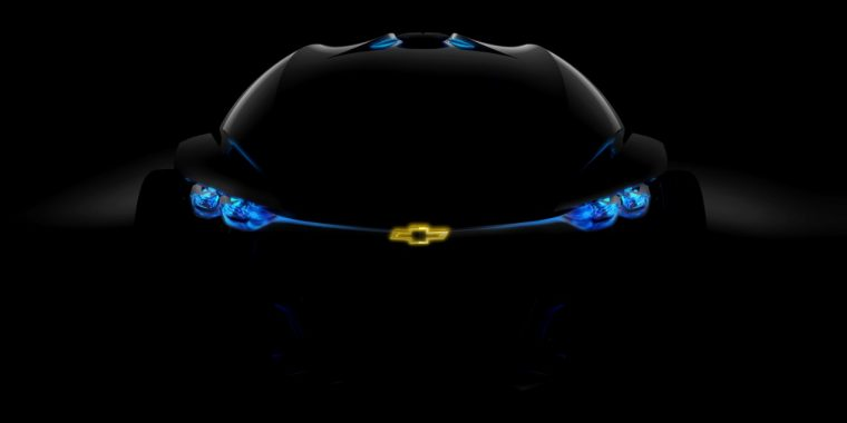The self-driving Chevrolet-FNR concept